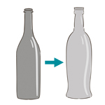 Lavage de bouteilles
