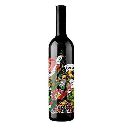 Bottiglia di vino personalizzata