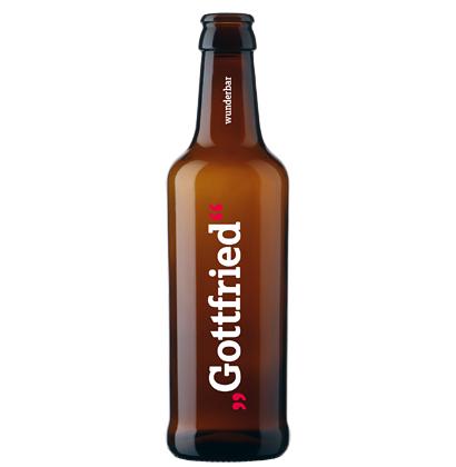 Personalisierte Bierflasche