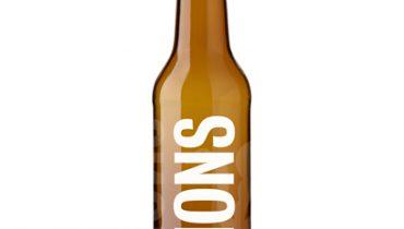 Bouteille à bière personnalisée