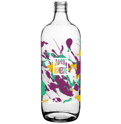 Personalisierte Krugflasche
