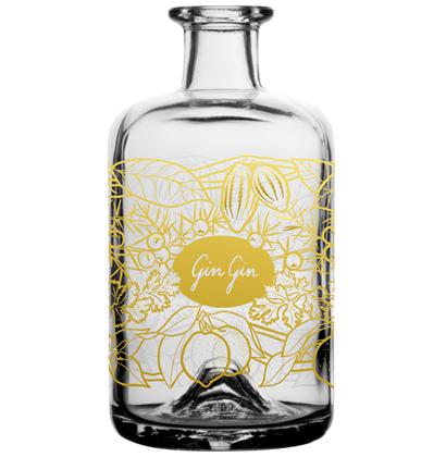 Personalisierte Gin Flasche