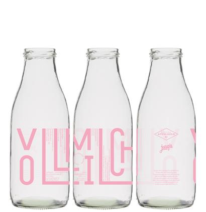 bottiglia di latte personalizzata