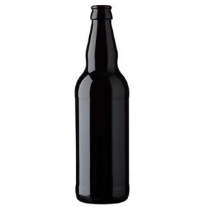 Beer bottle crown 50cl Long Neck Black