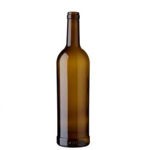 Bordeaux wine bottle cetie 75 cl oak Provins