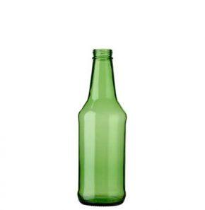 Bottiglia di birra CH4 tappo a vite 33cl verde