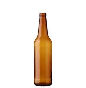 Bottiglia di birra corona 50cl PIVO Long Neck marrone