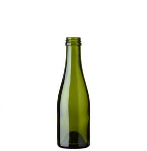 Bottiglia di Champagne quart vite 18.75 cl verde