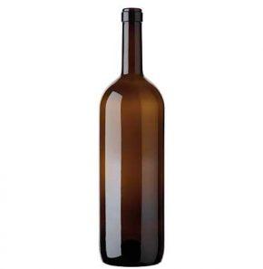 Bottiglia di vino Bordolese Magnum cetie 150 cl antico Golia