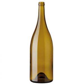 Bottiglia di vino Borgogna Magnum cetie 150 cl foglia-morta