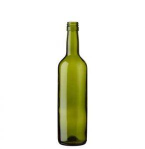 Bottiglia di vino Désirée BVS 50 cl verde