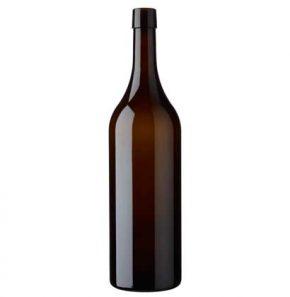 Bottiglia di vino Vodese fascetta 150 cl antico Magnum