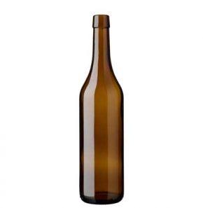 Bottiglia di vino Vodese fascetta 70 cl quercia Ancienne