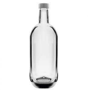 Bottiglia per distillati Spirit 75 cl bianco Moonea