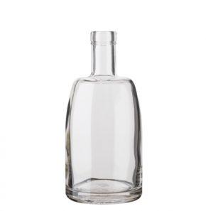 Bottiglia per distillati Spirit Fascetta 50 cl bianco Natura