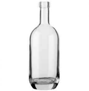Bottiglia per distillati Spirit Moonea fascetta 150cl bianco