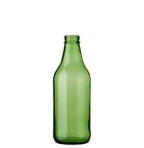 Bouteille à bière CH3 couronne à vis 33cl vert