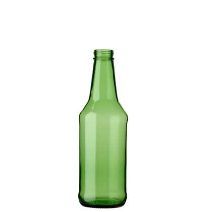 Bouteille à bière CH4 couronne à vis 33cl vert