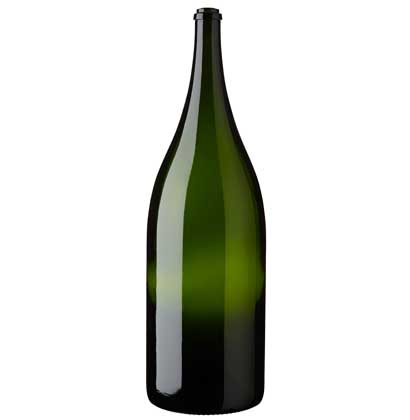 Bouteille à champagne Balthazar 12 l vert