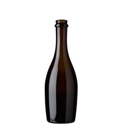 Bouteille à Champagne couronne 37.5 cl antique Collo Stretto