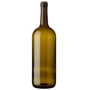Bouteille à vin Bordelaise cétie 150 cl olive Magnum