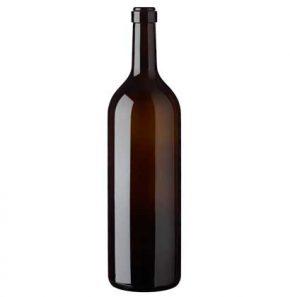 Bouteille à vin Bordelaise cétie 300 cl antique italienne