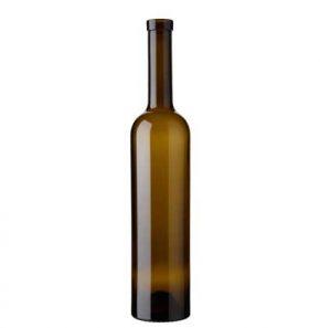 Bouteille à vin Bordelaise fascetta 75 cl antique Alfa légère