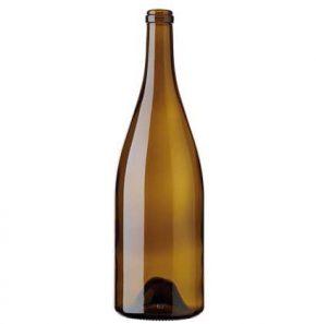 Bouteille à vin Bourgogne Magnum 1.5l chêne Vigneron