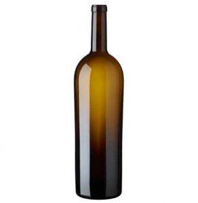 Bouteille à vin Elite cétie 3 l antique