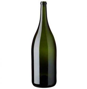 Bouteille à vin Mathusalem 600 cl vert