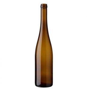 Bouteille à vin Rhénane cétie 75 cl chêne 350mm