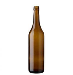 Bouteille à vin Vaudoise BVS 70 cl chêne Ancienne