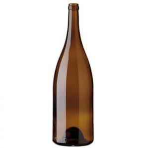 Burgundy Magnum wine bottle cetie 150cl oak
