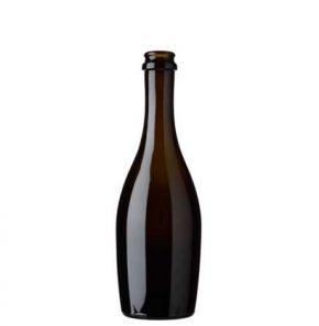 Champagnerflasche Kronkork 37.5 cl antik Collo Stretto
