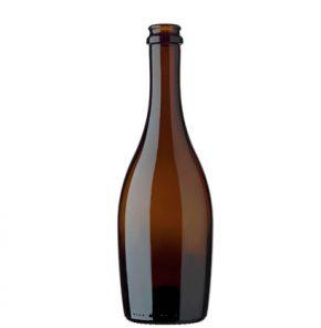 Champagnerflasche Kronkork 50 cl antik Collio