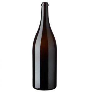 Jeroboam wine bottle 3l antique