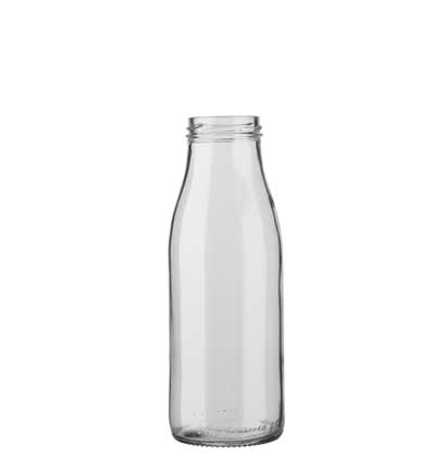 Milk bottle 50 cl white TO48 Fraîcheur