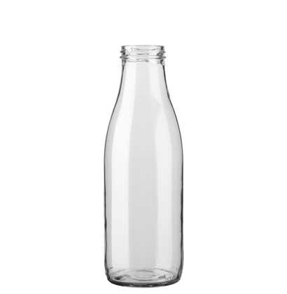 Milk bottle TO48 75 cl white