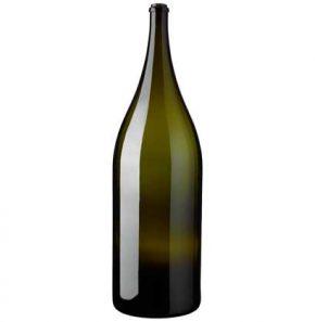 Nabuchodonosor wine bottle 15 l green