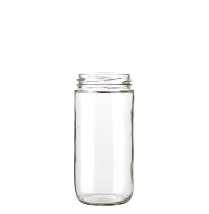 Pot à conserve 415 ml TO63 blanc