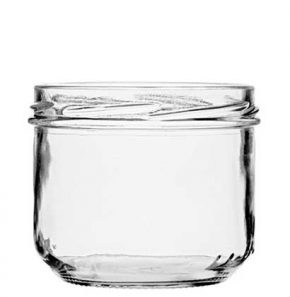 Pot à conserve Verrine 260ml TO 82 blanc