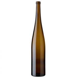 Rhine wine bottle bartop 150 cl oak