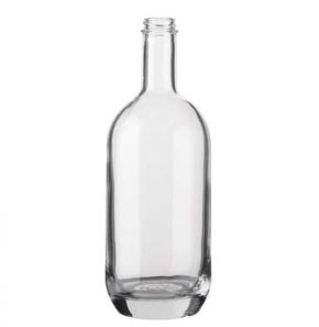 Spirit bottle bartop 100cl white Moonea