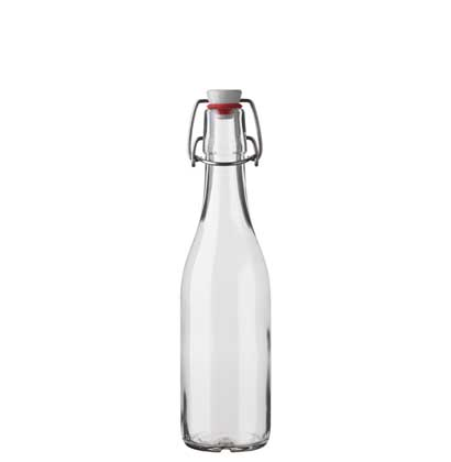 Swing top Juice bottle 35 cl white Gazosa