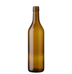 Vaud wine bottle bartop 70 cl oak