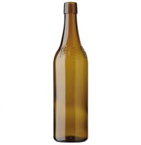 Vigneron Encaveur CH wine bottle bartop 50cl oak