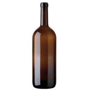 Weinflasche Bordeaux Band 1.5 l antik Magnum