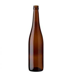 Weinflasche Rheinwein BVS 70 cl braun