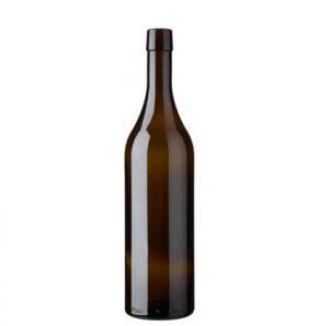 Weinflasche Waadtländer Oberband 75cl antik Ancienne