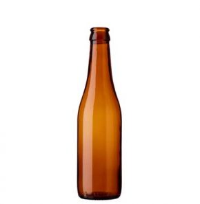 Beer bottle crown 33cl APO brown (227mm)